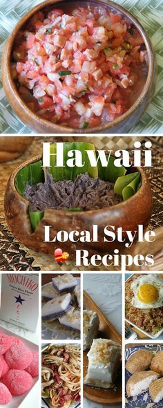 Favorite Hawaiian and local style recipes. Tasty favorite dishes you can make where ever you live. Enjoy!