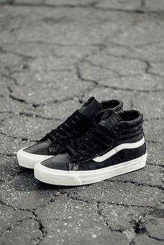 87e86315e7 Vans Vault OG Sk8-Hi LX  Vans  VansVault  Sk8Hi  Leather  Fashion   Streetwear  Style  Urban  Lookbook  Photography  Footwear  Sneakers  Kicks   Shoes