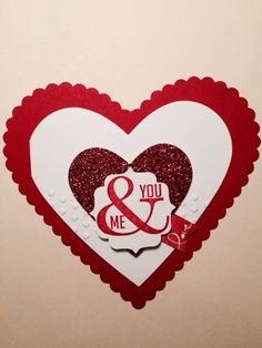 Valentines Day!  Stamp sets used Tags 4 You & Banner Blast