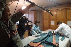Behind the Scenes: Catherine the Great's perfectly preserved gowns - #HermitageRevealed comes to Riverside's Big Screen 4 October. #RiversideScreen