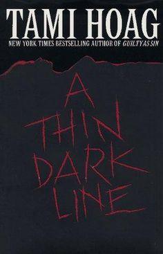 A thin dark line by Tami Hoag, BookLikes.com #books