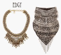 Statement necklaces have been around for awhile now. More delicate ones are great for Summer but the real statements seem to come out for Fa. Statement Necklaces, Fashion Accessories, Delicate, Jewelry, Jewlery, Jewels, Jewerly, Jewelery, Accessories