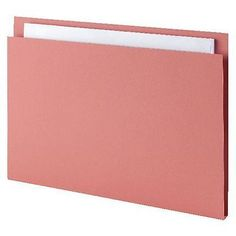 Guildhall Square Cut Folders Foolscap 315gsm Pink - Pack of 100