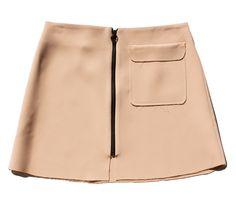Topshop Pocket A-Line Skirt / Garance Doré