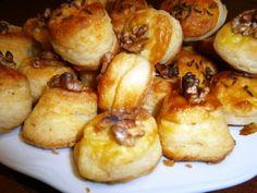 Tvarohové pagáče (fotorecept) - obrázok 5 Pretzel Bites, Biscuits, Potatoes, Bread, Vegetables, Nova, Basket, Crack Crackers, Cookies