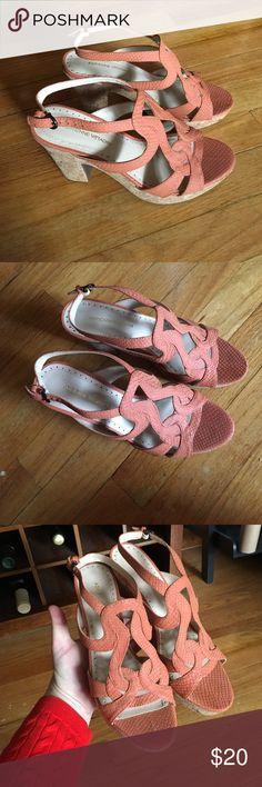 Platform sandals Listed as Steve Madden for exposure. Adrienne Vittadini beautiful platform sandals. Size 7.5. No trades. Steve Madden Shoes Heels
