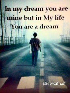 You are a dream.