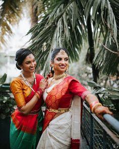 Bridal Kanjivaram Sarees For Traditional Yet Modern Indian Brides To Take Inspiration From! South Indian Weddings, South Indian Bride, Sabyasachi, Lehenga, Bridal Games, Saree Wedding, Punjabi Wedding, Boho Wedding, Wedding Reception