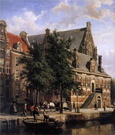The Oude Waag at the Westerkerk