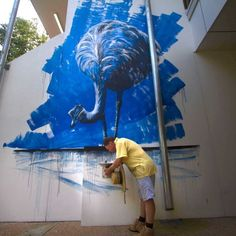 A university professor takes a bold step and uses street art to transform a regional campus.