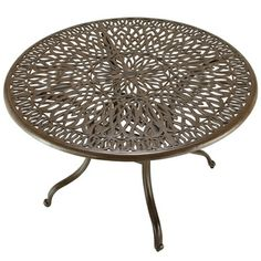 Floral Blossom 42-inch Round Dining Table | Overstock.com Shopping - Great Deals on Dining Tables