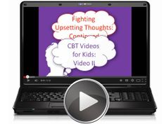 This video, the second in a series of eight videos for children on dealing with upsetting emotions, continues to show how automatic negative thoughts cause worries, sadness and anger.  Tags: CBT, autism, Asperger, free video.