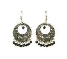 Waama Jewels Oxidised Rajwada Theme Bollywood Inspired Jaipur Handmade Jewellery Latest Earrings for Women And Girls - Waama Jewels Earring