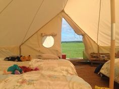 North East Family Fun: Our guide to family glamping at The Bells of Hemscott, Northumberland