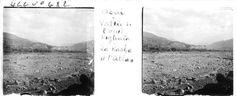 Asni  Kasba   Vue sur la vallée de l'oued Regahia, la Kasba, l'Atlas    1933.04