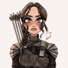 Cartoon Drawings, Cartoon Art, Cute Drawings, Character Inspiration, Character Art, Character Design, Hunger Games Drawings, Yoonmin Fanart, Cute Girl Drawing