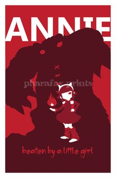 Annie League of Legends Print by pharafax on Etsy - Ahah! Oh, Annie, how I love you so.