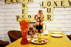 Freak Shake & Saudi Champagne only available at Olive & Honey Fast Food & Dine In Restaurant, Koh-e-Fiza, Bhopal