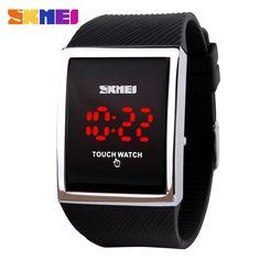 $9.35 (Buy here: https://alitems.com/g/1e8d114494ebda23ff8b16525dc3e8/?i=5&ulp=https%3A%2F%2Fwww.aliexpress.com%2Fitem%2FFashion-Men-Women-Electronic-LED-Touch-Candy-Jelly-Watch-Silicone-Sports-Digital-Watch-2014-New%2F32260616649.html ) Fashion Men Women Electronic LED Touch Candy Jelly Watch Silicone Sports Digital Watch 2016 New for just $9.35