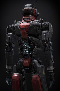 Scifi Robot / Rifle - Polycount Forum