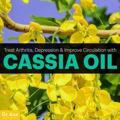 Cassia oil - Dr. Axe