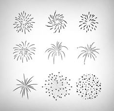 Firecracker vector set by snipers on creative market - . - Firecracker Vector Set By Snipers In Creative Market – - January Bullet Journal, Bullet Journal Ideas Pages, Bullet Journal Inspiration, How To Draw Fireworks, Fireworks Art, Fireworks Wallpaper, Firework Tattoo, Firework Painting, Firework Drawing