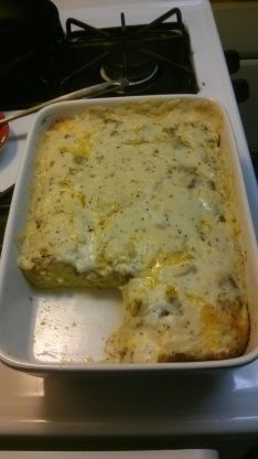 Biscuits And Gravy Breakfast Casserole Recipe - Food.com