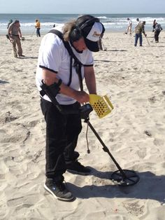 National Metal Detecting Day 2012 - Atlantic City, New Jersey