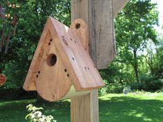Teardrop Birdhouse by Kurtswoodworks on Etsy