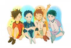 haikyuu captains