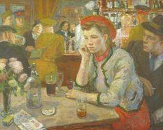 Edward Le Baş'ın 'Saloon Bar' 1940 © Tate ♥♥♥