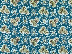 Tilton Fenwick Floral Cecilia Blue/Green 21077-72 Multipurpose Fabric offered in the exciting new print and wovens Cactus Ochre Book 2936 by Duralee, is made from a soft and luxurious cotton/linen fabric. Tilton Fenwick Floral Cecilia Blue/Green 21077-72 will inspire you with complimentary dots, stripes, and florals that combine beautifully for an elegant or whimsical design. Bring the luxury of Tilton Fenwick designers, Anne Maxwell Foster and Suysel dePedro Cunningham to your lovely home.