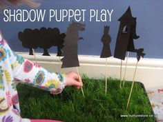 Shadow puppets - great for bringing stories to life