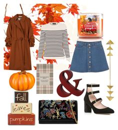 """""""Fall is coming"""" by hellodielilly on Polyvore featuring Improvements, Marni, Monki, Saint James, Kate Spade, Yves Saint Laurent and Burberry"""