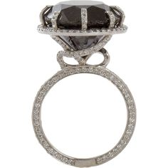 Sharon Khazzam - Natural black diamond ring