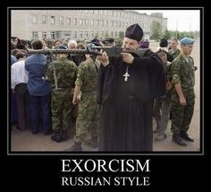 Exorcism Really Funny Memes, Stupid Funny Memes, Funny Relatable Memes, Hilarious, Humor Militar, Funny Images, Funny Photos, Military Jokes, Meanwhile In Russia