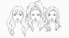 Zyra Bañez • love the art: DRAWING HAIR