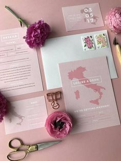 Destination Wedding Stationery with Italy Map in Pink - Dest. - Destination Wedding Stationery with Italy Map in Pink – Destination Wedding S - Cheap Wedding Invitations, Beach Wedding Favors, Destination Wedding Invitations, Wedding Invitation Wording, Wedding Stationary, Destination Weddings, Invites, Event Invitations, Wedding Destinations