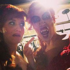 Who's that lady? #peilikuva #vampyyrientanssi #hktfi #munteatteri