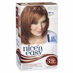 Clairol Nice 'N Easy Hair Color 108 Natural Reddish Blonde 1 Kit (Pack of Hair Care Routine, Hair Care Tips, Best Hair Dye, Light Auburn, Natural Blondes, Permanent Hair Color, Color Blending, Hair Health, Easy Hairstyles