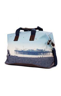 Brighton Seafront Hold-All | Dark Brown | Ben Sherman