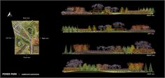 Ponds park - Projects - Gallery - Lands - Landscaping Software for Rhino