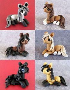 Natural Ponies by DragonsAndBeasties on deviantART -So cool! I would have LOVE t… Natural Ponies by DragonsAndBeasties on deviantART -So cool! I would have LOVE these as a child! Polymer Clay Kunst, Polymer Clay Figures, Polymer Clay Animals, Cute Polymer Clay, Cute Clay, Fimo Clay, Polymer Clay Projects, Polymer Clay Charms, Polymer Clay Creations