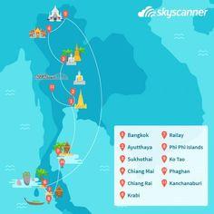 itinerario viaje a Tailandia