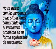No te irrites con las personas o las situaciones ....