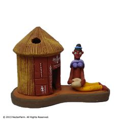 Construction and material: Clay Crafted and painted individually by hand Treated at high temperatures for durability Flower Vases, Flowers, Candle Stand, Clay Animals, Gods And Goddesses, Corporate Gifts, Lampshades, Clay Crafts, Terracotta