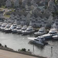 Yacht's at Pirates Cove Marina.