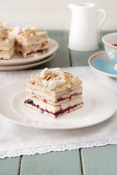 Pani Walewska (Pychotka) bez pieczenia Krispie Treats, Rice Krispies, Tiramisu, Cereal, Cheesecake, Baking, Breakfast, Ethnic Recipes, Cakes