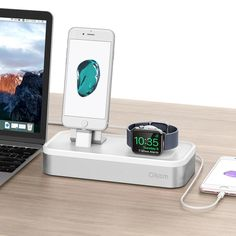 This itemis an excellent 4 in 1 charging stand which is designed especially for Apple Watch, AirPods, iPhone and iPad charging . It will add a touch of class into your living space or bedroom AND keep your essential devices all in one place making them easier to find! Our Guarantee: Office Gadgets, Latest Gadgets, All In One, Apple Watch, Kids Toys, Ipad, Iphone, Touch, Bedroom