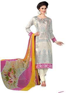 Pakistani Salwar Kameez, Pakistani Suits, Ethnic Fashion, Every Woman, Lawn, Cover Up, Classy, Grey, Cotton